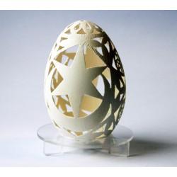 Ażurowe jajo z herbem Tarnowa