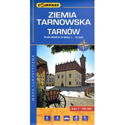 Ziemia Tarnowska - mapa